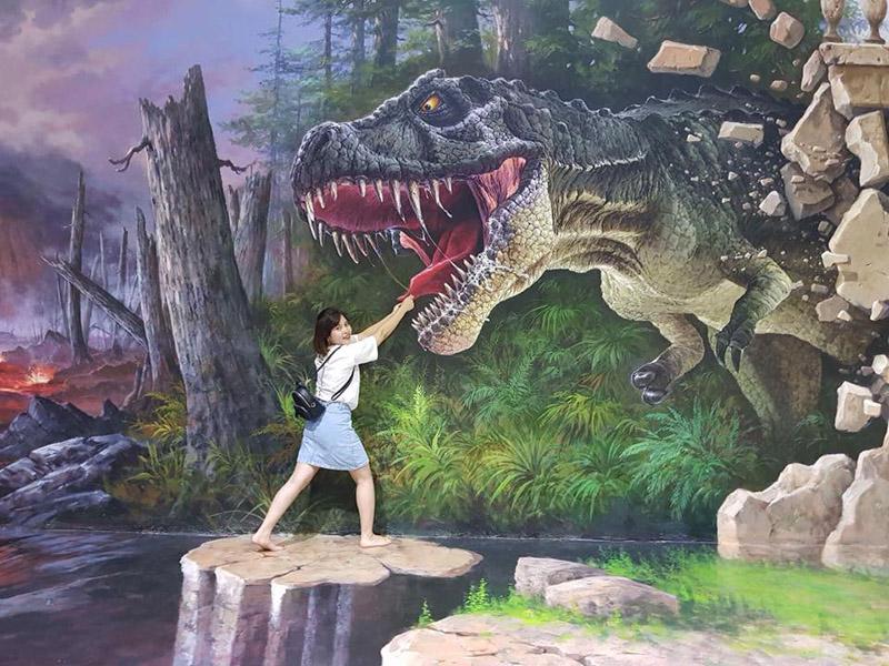 chiêm ngưỡng bảo tàng tranh 3D