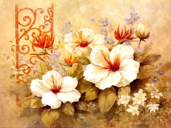 tranh sơn dầu số hóa đẹp