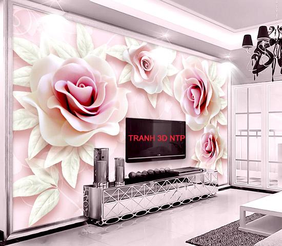 tranh dán tường 3D tại TPHCM