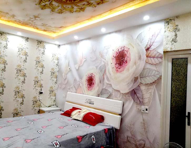 tranh dán tường phòng ngủ tuyệt đẹp
