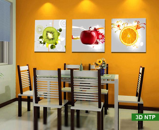 tranh decor phòng bếp