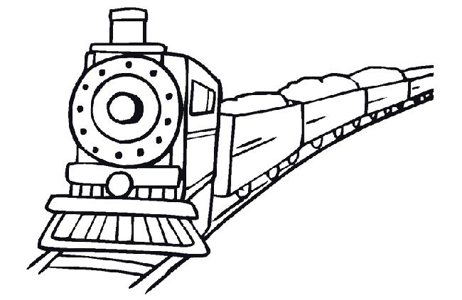 trah tô màu tàu hỏa