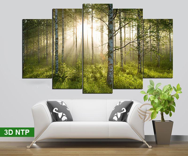 Vẻ đẹp của phong cảnh thiên nhiên được mang tới căn nhà của bạn