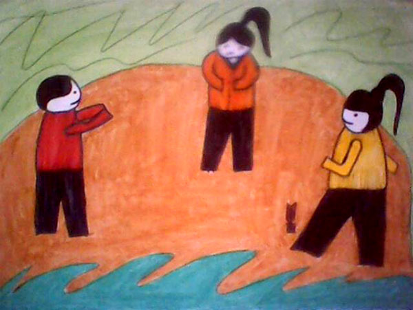 Vẽ tranh đề tài trò chơi dân gian