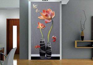 Tranh bình hoa 3D