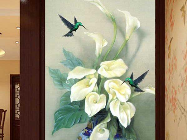 TRanh bình hoa đẹp nhất