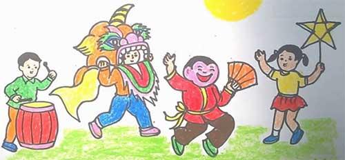 Lễ hội múa lân tết trung thu