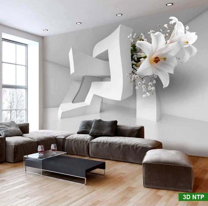 Tranh 3D phòng khách