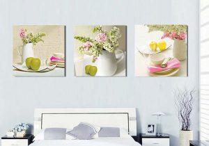 tranh canvas phòng ngủ