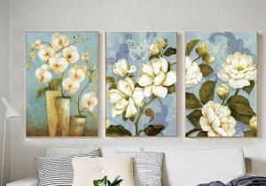 tranh hoa nghệ thuật canvas