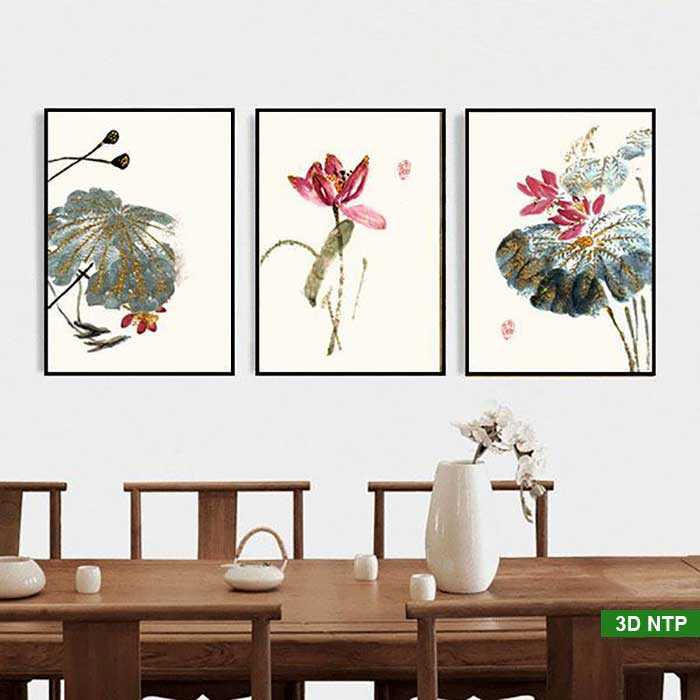 Tranh canvas phòng ăn