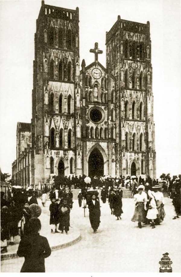 hà nội xưa - nhà thờ lớn