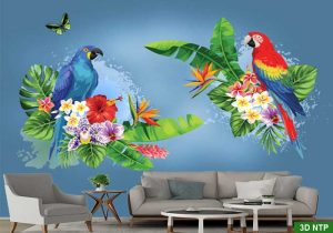 tranh dán tường phòng khách