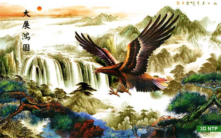 Tranh phong cảnh sơn thủy hữu tình Việt Nam