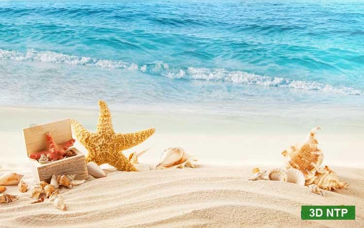 Tranh 3D cảnh biển