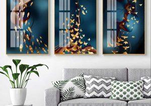 tranh canvas hiện đại