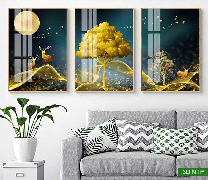 Tranh canvas phòng khách