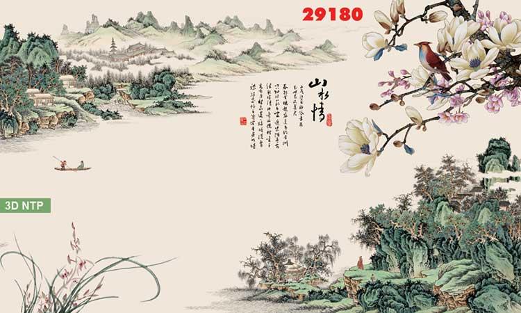Tranh sơn thủy hữu tình Trung Quốc
