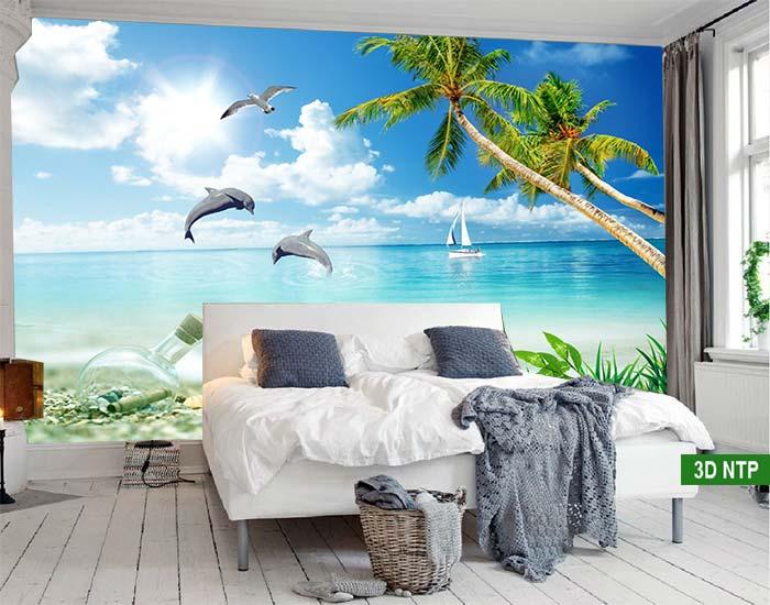 Tranh cảnh biển phòng ngủ