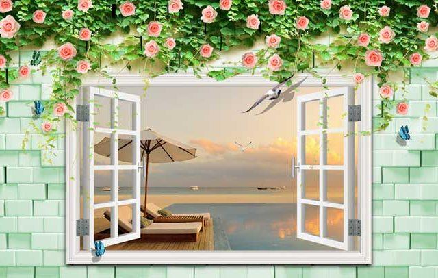 Tranh giả cửa sổ