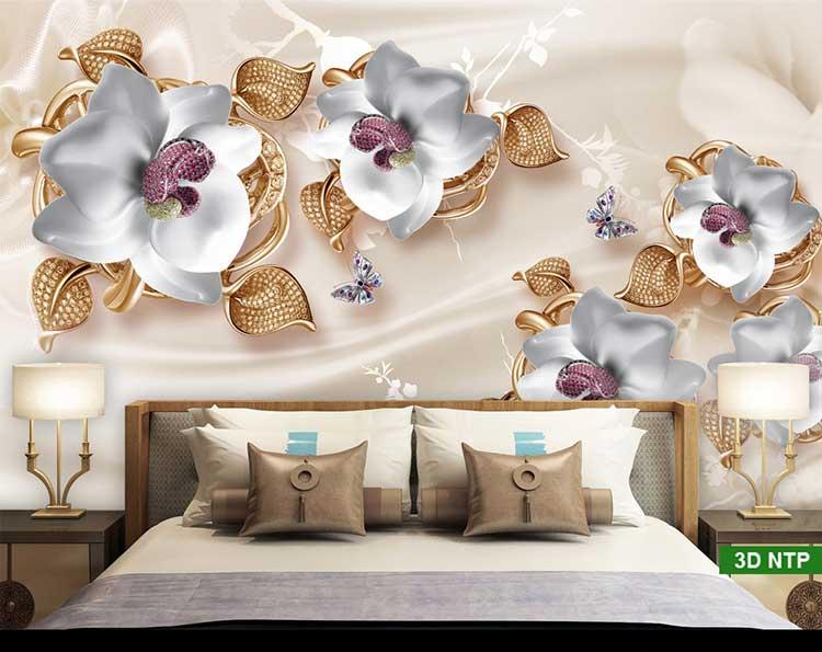 Tranh 3D phòng ngủ