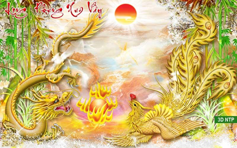 Tranh rồng phượng