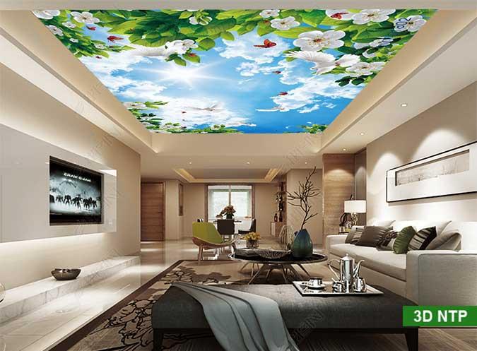 Tranh trần nhà 3D